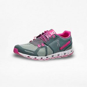 Tenis On Cloud Gris/Rosa Mujer - Run4You.mx