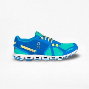 Tenis On Cloud Verde/Azul Mujer - Run4You.mx
