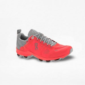 Tenis On Cloudsurfer Coral/Gris Mujer - Run4You.mx
