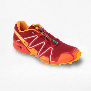 Tenis Salomon Speedcross 3 Rojo/Naranja Hombre - Run4You.mx