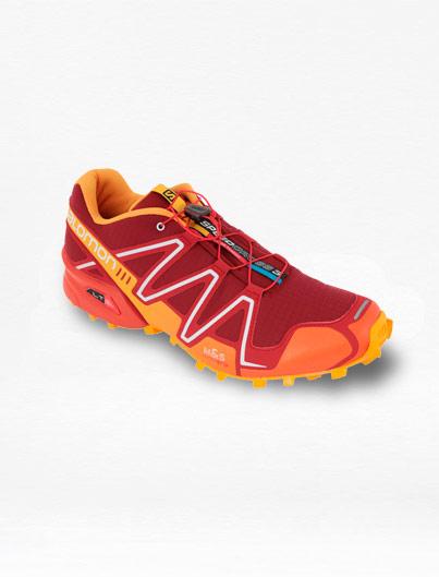 Tenis Salomon Speedcross 3 Rojo/Naranja Hombre – Run4You.mx