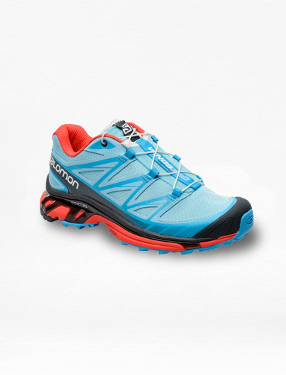 Tenis Salomon Wings PRO Azul/Rojo Mujer – Run4You.mx