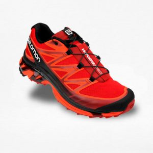 Tenis Salomon Wings PRO Rojo/Negro Hombre - Run4You.mx