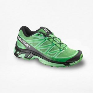 Tenis Salomon Wings PRO Verde/Negro Mujer - Run4You.mx