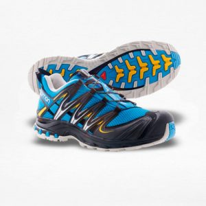 Tenis Salomon XA PRO 3D Azul/Gris Hombre - Run4You.mx