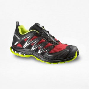 Tenis Salomon XA PRO 3D Rojo/Gris Hombre - Run4You.mx