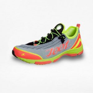 Tenis Zoot Ultra Tempo Naranja/Verde/Gris Mujer - Run4You.mx