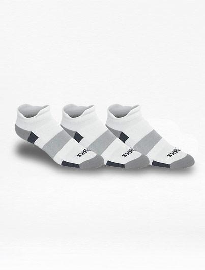 Calcetines Asics Tripack Intensity Low Cut Blanco – Run4You.mx