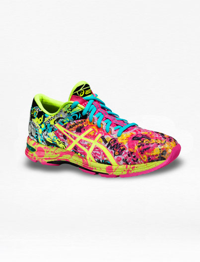 Tenis Asics Noosa 11 TRI Amarillo/Rosa Mujer - Run4You.mx