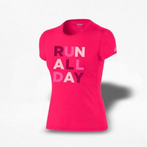 Playera Asics Run All Day Mujer - Run4You.mx