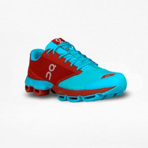 Tenis On Cloudster Rojo/Azul - Run4You.mx