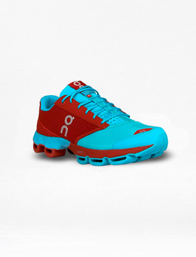Tenis On Cloudster Rojo/Azul – Run4You.mx