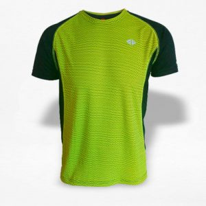 Playera Energy Dryfit Panal Amarillo Hombre - Run4You.mx