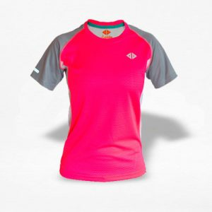 Playera Energy Dryfit Coral Mujer - Run4You.mx