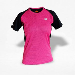Playera Energy Dryfit Panal Fucsia Mujer - Run4You.mx