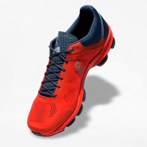 Tenis On Cloudsurfer Naranja/Gris - Run4You.mx