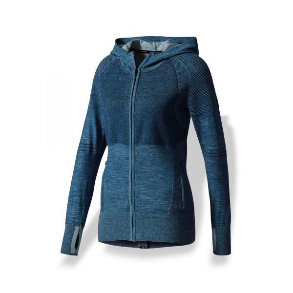 Chamarra Adidas – Primeknit – Mujer – 01 – run4you.mx