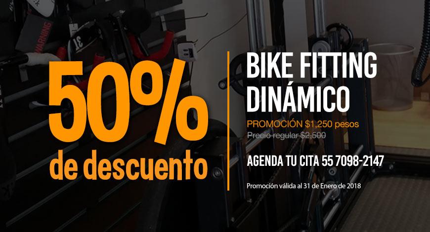 50% de descuento en Bike Fitting Dinámico / Dic-2017